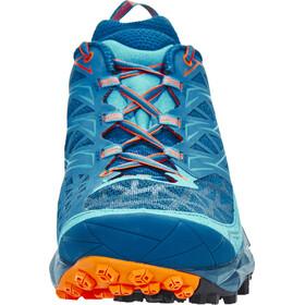 La Sportiva Akyra Running Shoes Men Ocean/Flame
